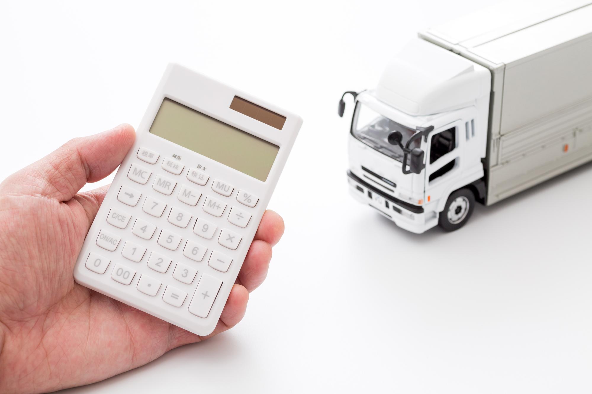 運送業界のコストのイメージ写真です。